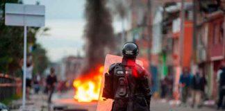 colombia, denuncia, muertes, violencia policial, jornada de paro,