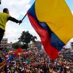 colombia, cajamarca, joven herido, represion, manifestaciones,