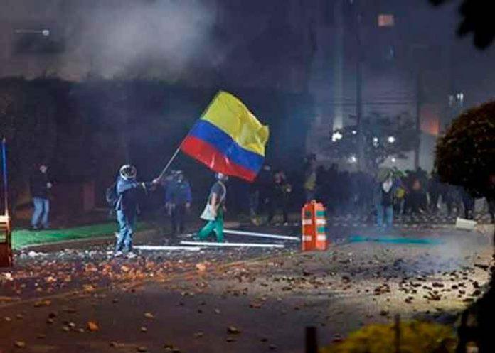 colombia, bogota, represion, manifestaciones, gobierno, heridos,