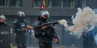 colombia, fallecimiento, joven, protestas, represion, policias,