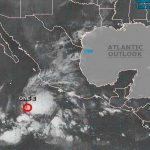 mexico, oceano pacifico, formacion, depresion tropical, servicio metereologico, fenomeno,