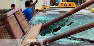 Nicaragua, Granada, accidente, daños materiales