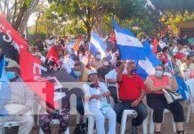 Nicaragua, Jinotega, acto cultural, natalicio del general sandino,