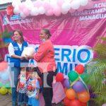 Managua, MIFAM, madres, paquetes alimenticios,
