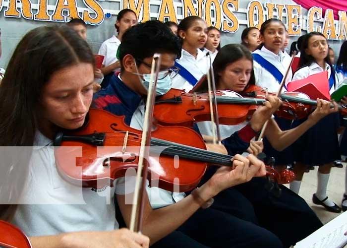 educación, coro, Nicaragua, Matagalpa, MINED