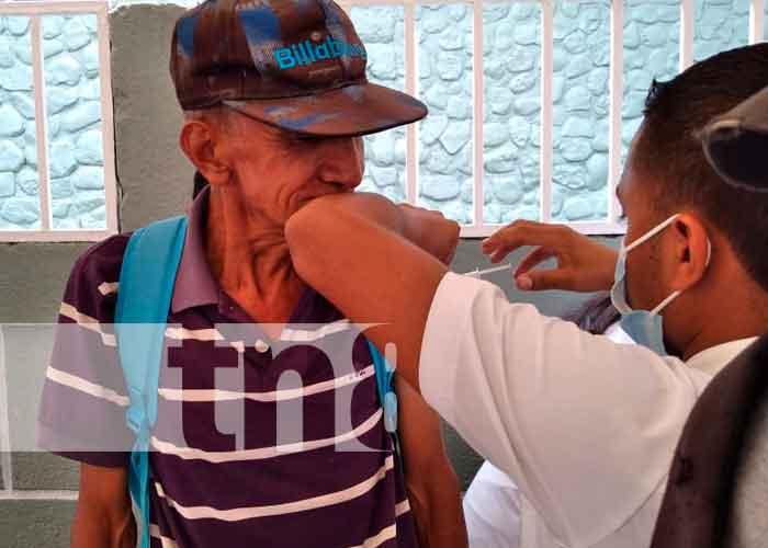 nicaragua, jinotega, minsa, jornada de vacunación ,