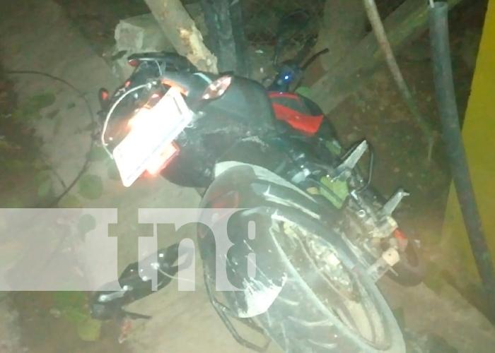 accidente, Policia Nacional, Bonanza, Nicaragua,