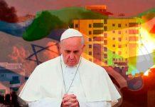 palestina, israel, papa francisco, llamado, paz, redes sociales,