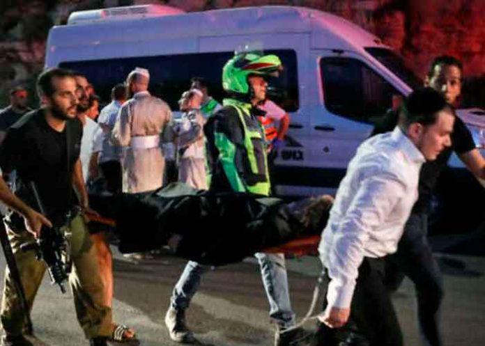 israel, sinagoga, colapso, muertos, heridos, autoridades,