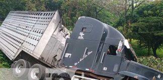 Nicaragua, accidente, Rio Blanco, sucesos,