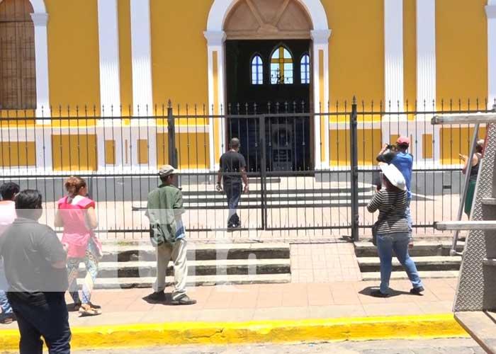 nicaragua, granada, accidente, catedral,