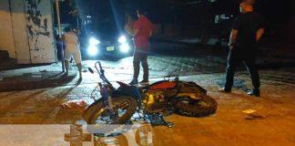 nicaragua, accidente, transito, juigalpa, moto,