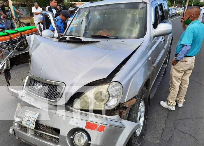 nicaragua, accidente, policia, transito, reporte policial,