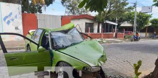 nicaragua, accidentes, transito, policia, incidente vial,