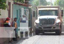 Nicaragua, Managua, alcaldía, mejoramiento vial,