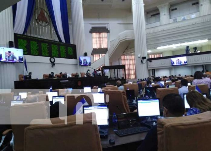 nicaragua, asamblea, leyes, convenio, internacional,