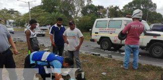 nicaragua, accidente, camion, bloques, ayudante, carretera sur,