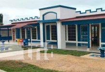Nicaragua, caribe norte, Mined, escuela,