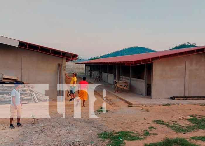 nicaragua, caribe norte, construcción de escuela, gobierno,