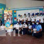 nicaragua, bluefields, estudiantes, Mivida sin drogas paz y porvenir,