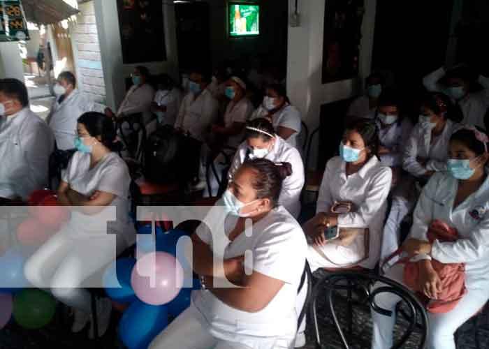 Nicaragua, Boaco, Minsa, jornada científica, enfermería