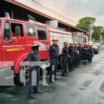 nicaragua, bomberos, prinzapolka, camiones, estacion,