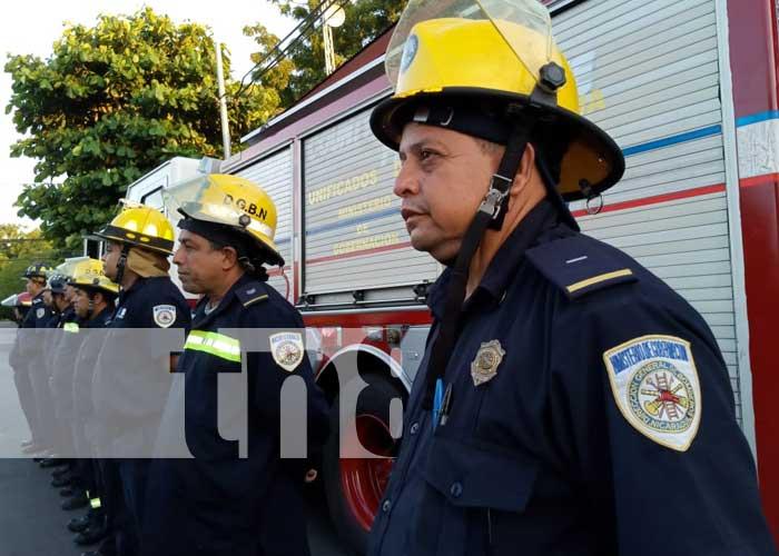 nicaragua, bomberos, tisma, masaya, estacion de bomberos,