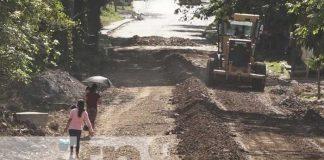 nicaragua, calles, matiguas, adoquinado, reparacion vial,