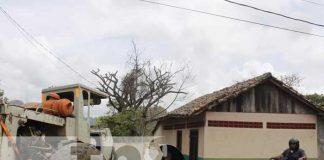 nicaragua, calles, reparacion, jinotega,