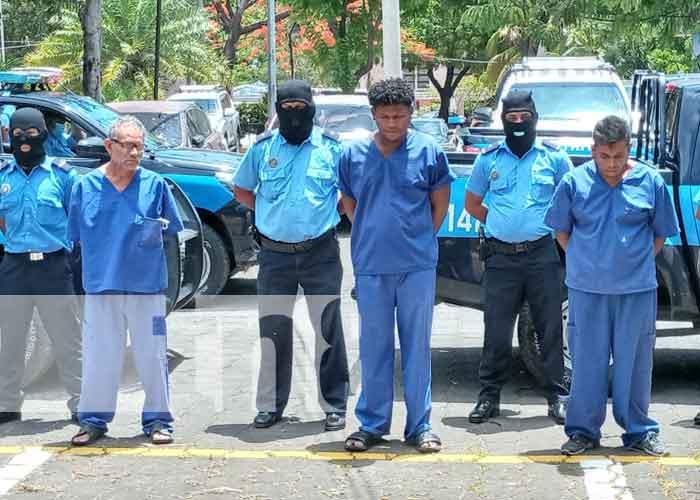 nicaragua, policia, delincuentes, robo, drogas,