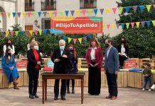 Chile, presidente Sebastián Piñera, ley, cambiar el orden de los apellidos,