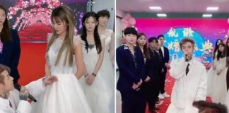 china, influencer, pedida de mano, novia,