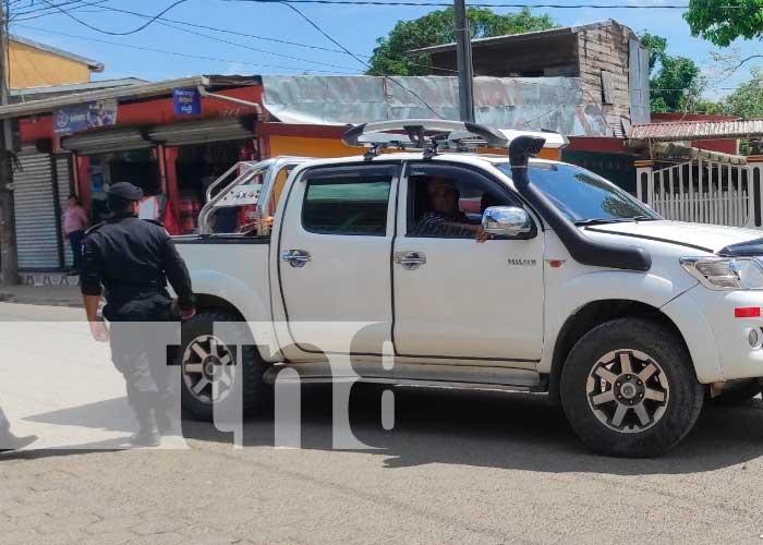 nicaragua, siuna, choque, carro,