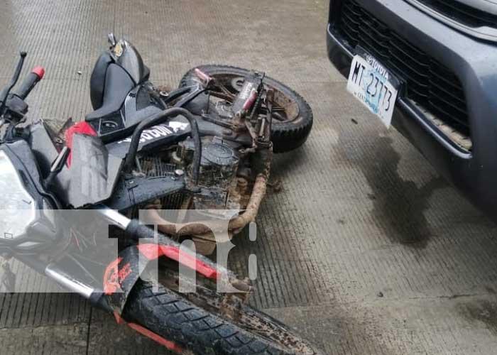 nicaragua, accidente, matiguas, moto, matagalpa,