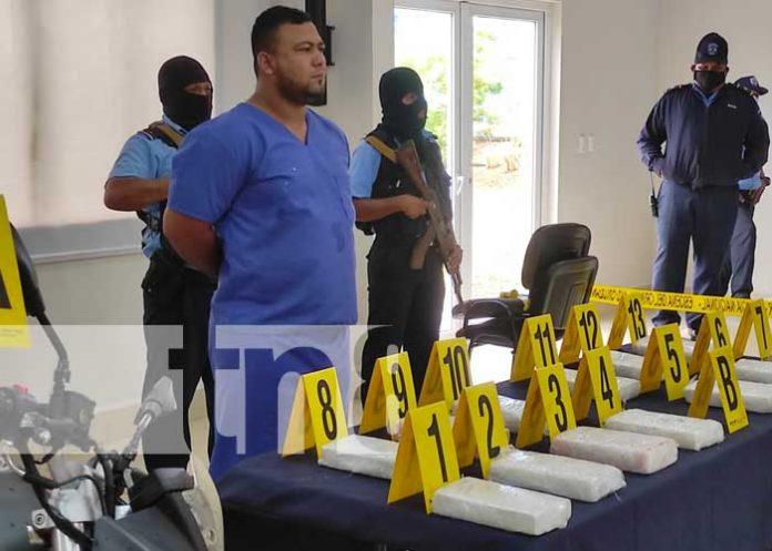 nicaragua, cocaina, incautacion, managua, policia,