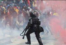 Colombia, represión, manifestaciones, policía,