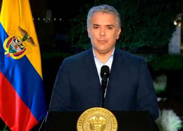 Colombia, presidente Ivan Duque, manifestantes, fuerza