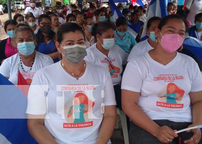 nicaragua, comisaria de la mujer, rio blanco, matagalpa, seguridad,