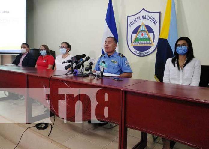nicaragua, juventud, cultura de paz, policia,