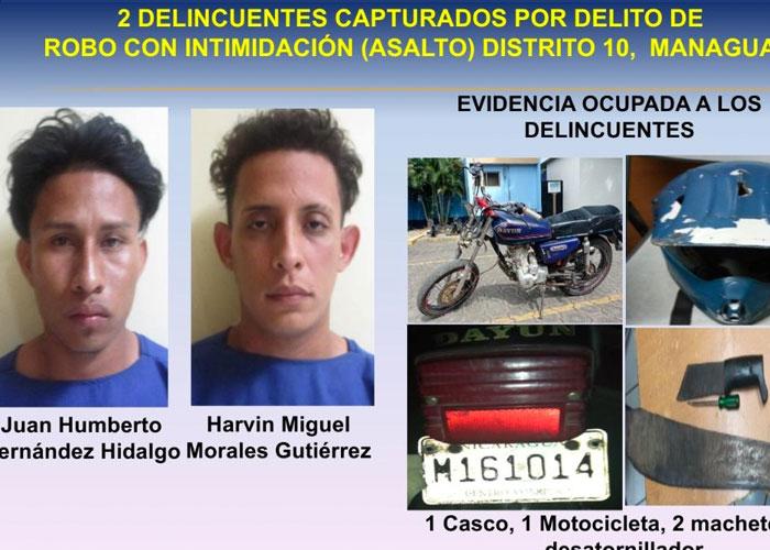 nicaragua, delito, policia, managua,
