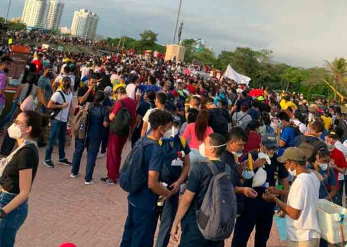 colombia, protestas, dialogo nacional, ivan duque,
