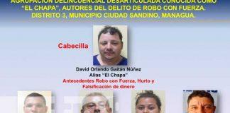 nicaragua, drogas, delincuencia, captura, policia,