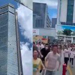 china, evacuacion, rascacielos, seg plaza,