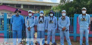 nicaragua, managua, fumigacion, salud, barrio laureles sur,