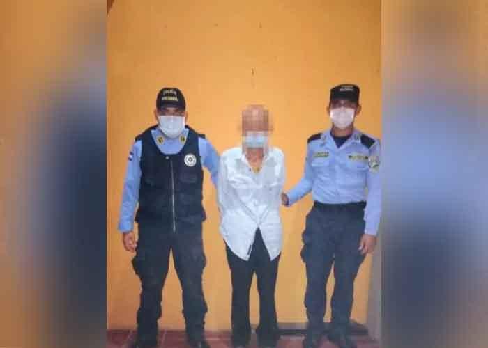 Honduras, Amapala, anciano, hija no vidente, abuso sexual,