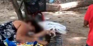 Honduras, Colón, matan a mujer, hijos,