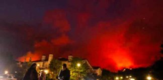 los angeles, incendio forestal, medio ambiente,