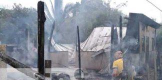 nicaragua, incendio, ayuda, san carlos, rio san juan, vivienda,