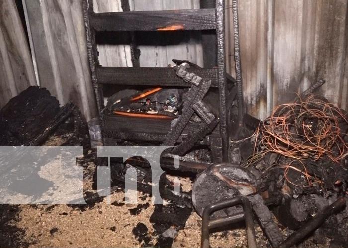 incendio, quemaduras, niño, estelí, nicaragua,