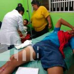 Nicaragua, jalapa, accidente , dos personas lesionadas,